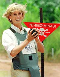 <a href=http://www.tribuneindia.com/2003/20030712/wd.jpg>Princess Diana supporting her land mine campaign</a>