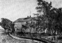 Muir's childhood home in Wisconsin (http://www.library.wisc.edu)