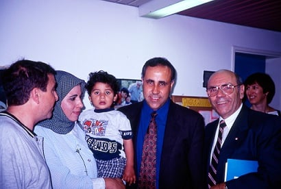 Israeli and Jordanian Audiologists with Dr. Noyek (Dr. Noyek)