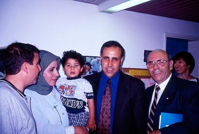 Israeli and Jordanian Audiologists with Dr. Noyek (Dr. Noyek)