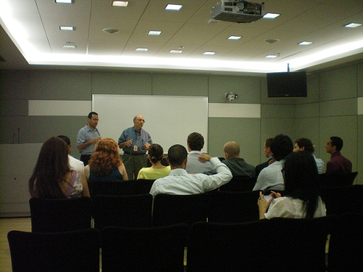 Med Students Israel, Jordan, Palestine & Canada (Dr. Noyek)