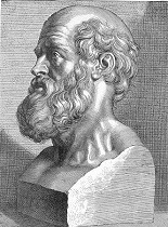Bust of Hippocrates  (Wikipedia Commons)