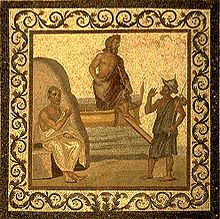 An image of Hippocrates at the Asclepieion of Kos. (Wikipedia Commons)