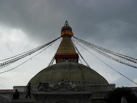 Boudha Stupa Kathmandu Nepal (Wendy Jewell)