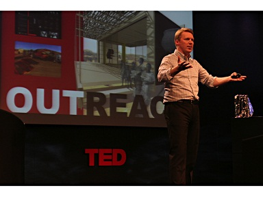Cameron, live at TED.org (Architecture For Humanity)