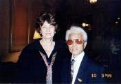 Caldicott with Hiroshima survivor Takashi Tanemori