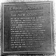 Emma Lazarus poet