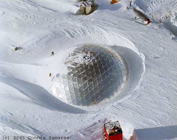 Sunken 1970's dome