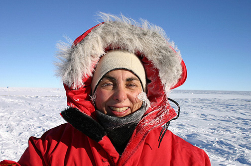 Connie at South Pole