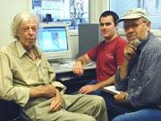 Thomas Dibblee, legendary geologic mapper, digitizes his maps.    July 2001  Susan Baum