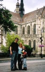 David, Wendy and Slater at iEARN Slovakia